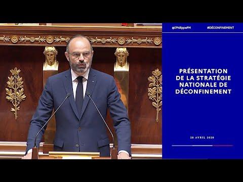 #COVID19 | Édouard Philippe présente la stratégie nationale de déconfinement | Gouvernement