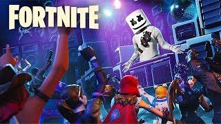 "New Fortnite ""Marshmello Event"" Countdown - (Fortnite: Marshmello Event Gameplay)"