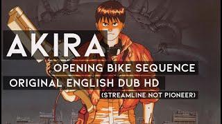 Akira Opening Bike Sequence HD - Original English Dub