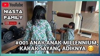 HOTEL MILLENIUM   Jakarta   Anak-anak Millennium, Kakak Rayya Sayang Adik Nya (Ayesha).