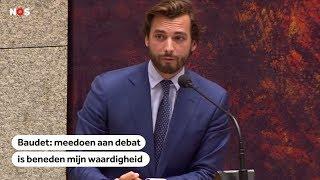 BAUDET:  Manier van debatteren in Tweede Kamer leidt volgens de FvD-leider  tot niets
