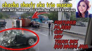 Download Viral❗️chacha sherly eks trio macan 🔴 insiden bus murni jaya ❗lima minibus & truck box
