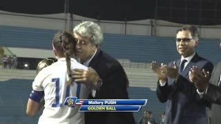 #CU20W Golden Ball - Mallory Pugh, @ussoccer_ynt ... #CONCACAF @ussoccer