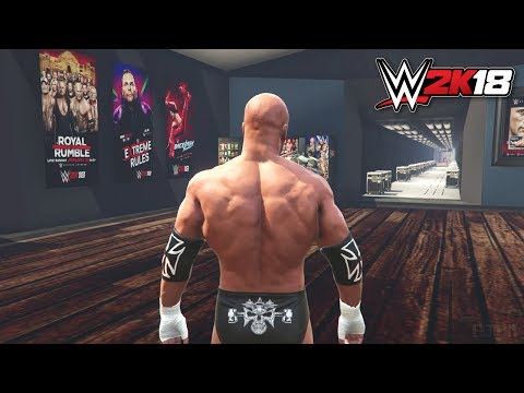 WWE 2K18 My Career, GM Mode & Road To Wrestlemania Gameplay Trailer PS4/XB1 Notion thumbnail