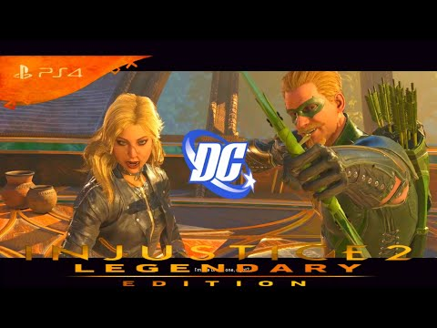 INJUSTICE 2- THE BRAVE AND THE BOLD - GREEN ARROW & BLACK CANARY GAME PLAY NO COMMEN FULL 1080P  60F
