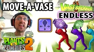 Lets Play PVZ 2: Move Vase Power Up! Vasebreaker Endless Waves (Face Cam Gameplay)