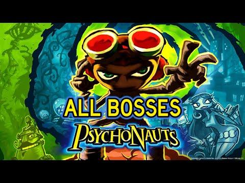 Psychonauts - All Bosses