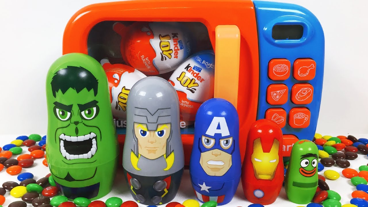 Microwave Avengers Stacking Cups Disney Captain America ...