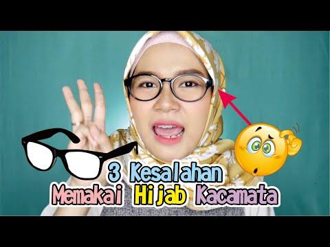 3 Kesalahan Saat Memakai Hijab Menggunakan Kacamata