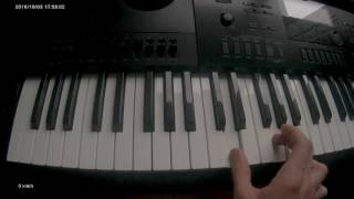 The Cars - You Might Think (BrainDead)  (Безмозглые) casio wk-7600 piano tutorial