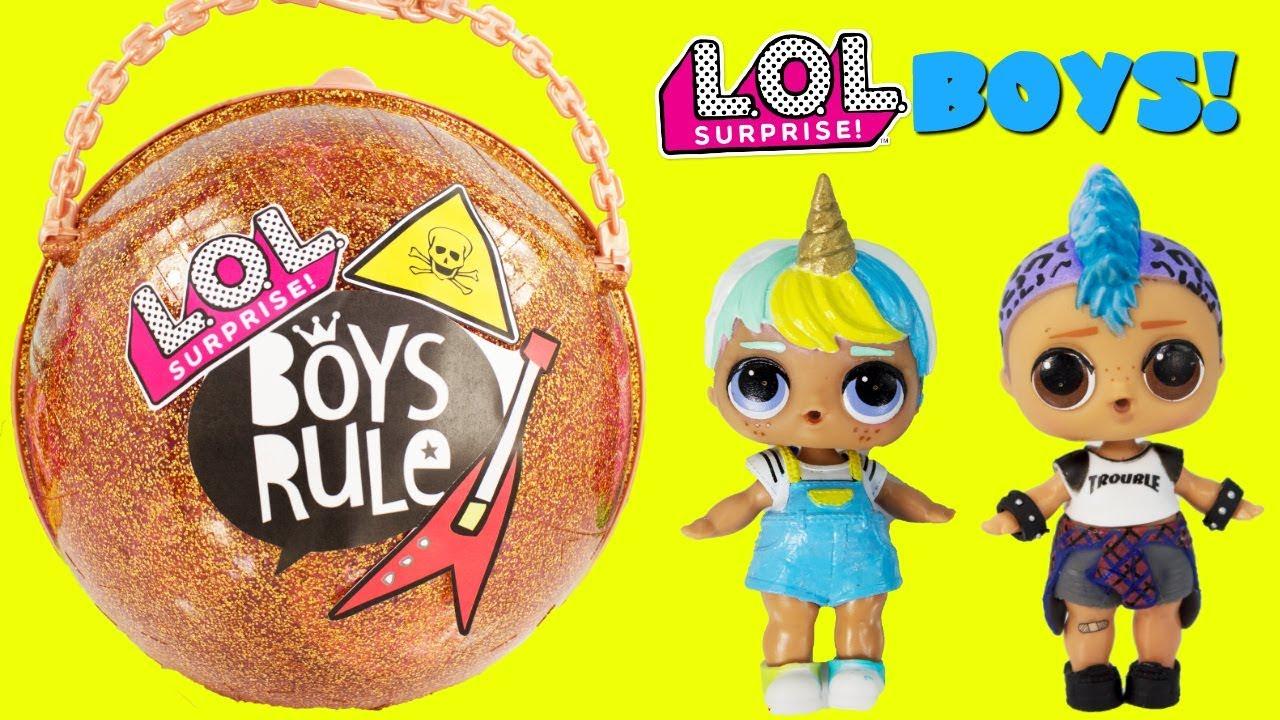 L.O.L LOL Surprise Dolls UNICORN Punk Boi Boy SNOW BUNN Bhaddie TROUBLEMAKER