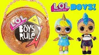 LOL Surprise Boys Rule Custom Big Surprise Ball Punk Boi Unicorn Boi