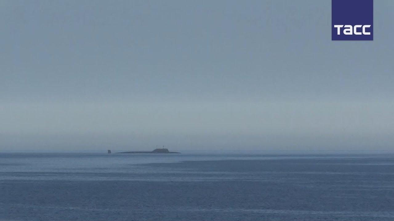 Минобороны опубликовало видео пуска ракеты «Калибр» с АПЛ «Северодвинск»