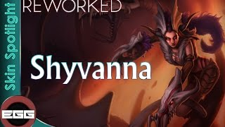All Shyvana Skins Spotlight | League of Legends Skin Review