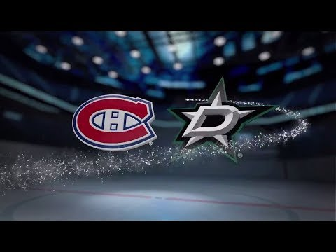 Dallas Stars vs Montreal Canadiens - November 21, 2017 | Game Highlights | NHL 2017/18. Обзор матча