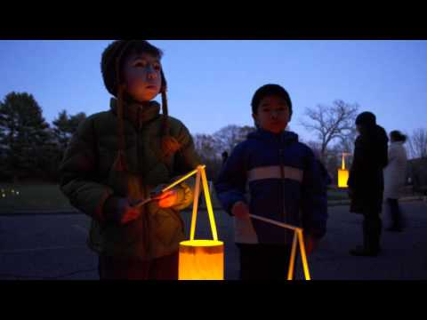 Lantern Walk at the Waldorf School of Lexington