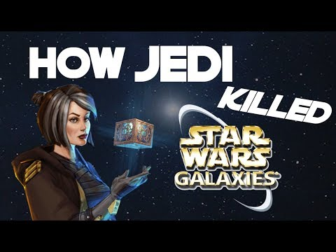 How Jedi Killed Star Wars Galaxies