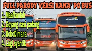 Top Hits -  Terbaru Kumpulan Lagu Parody Versi Bus Indonesia