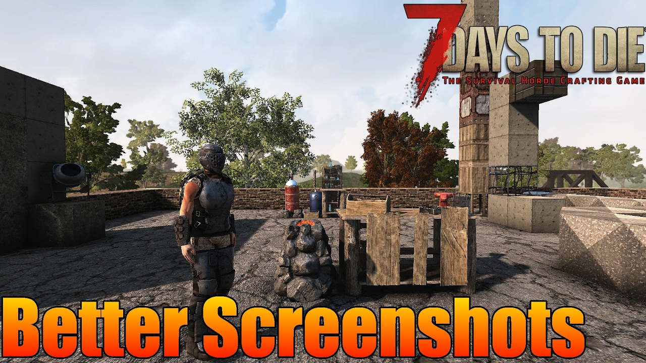 7 Days To Die Better Screenshots Hide Hud 3rd Person Camera