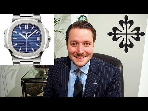 On the wrist: Patek Philippe Nautilus 40th Anniversary 5711P