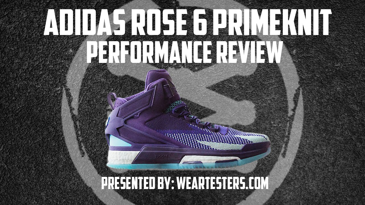 65536a4c33ee adidas D Rose 6 PrimeKnit Performance Review. WearTesters