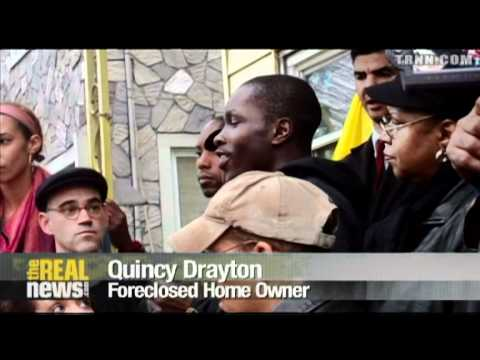 Occupy Wall St. Joins Fight Against Foreclosures