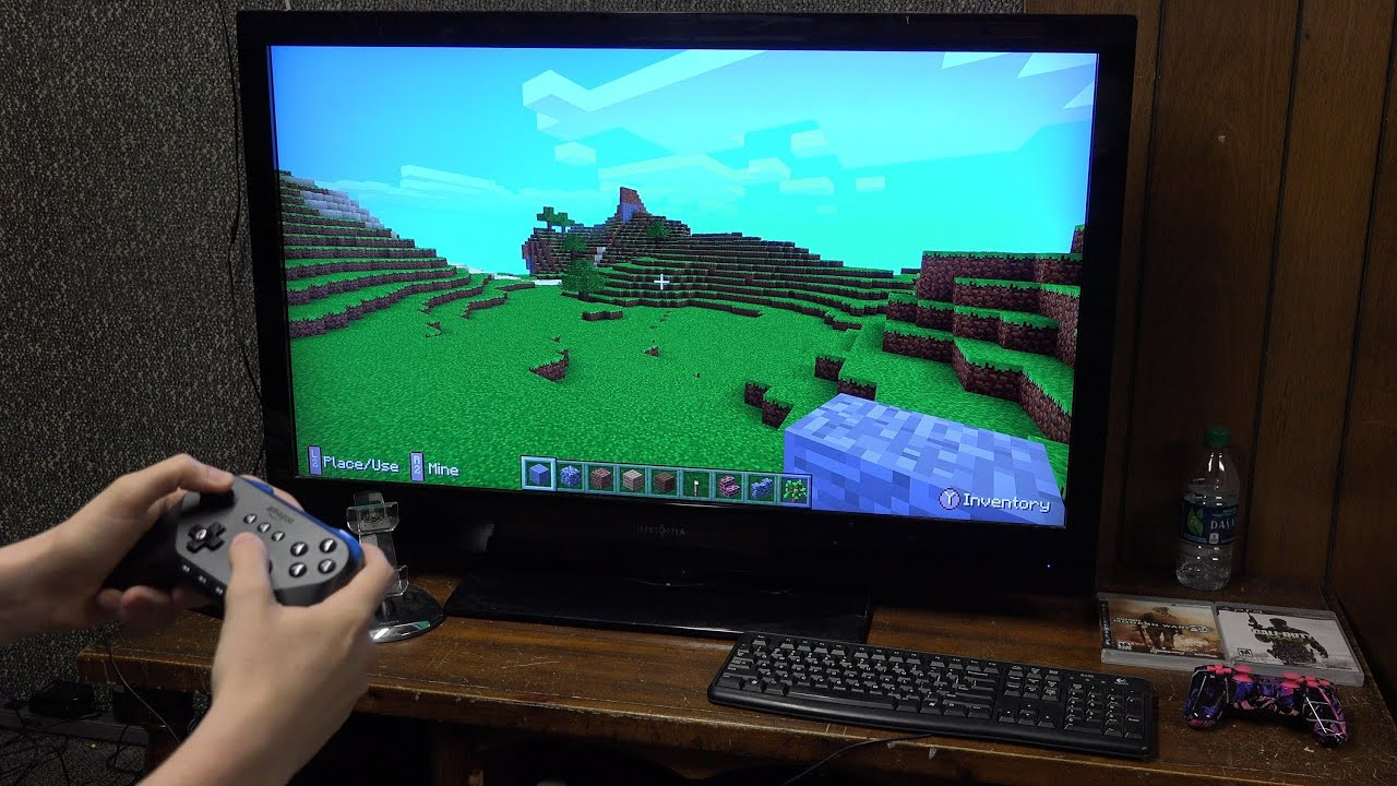 Amazon Fire TV And Game Controller Setup Asphalt And Minecraft - Minecraft pc mit pad spielen