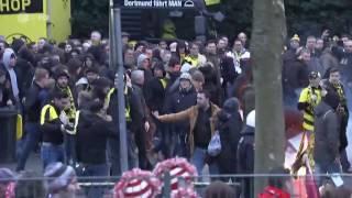 Ausschreitungen vor dem Spiel Borussia Dortmund - RB Leipzig   das aktuelle sportstudio   ZDF