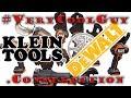 New Klein (DeWALT) Power Tools? - Best Power Tools For Electricians