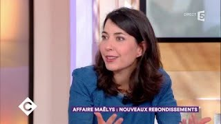 Affaire Maëlys : nouveaux rebondissements - C à Vous - 18/01/2018