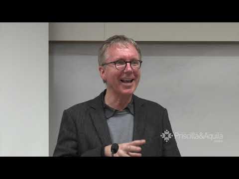 Priscilla & Aquila Centre: David Höhne on Language for God in the Old Testament