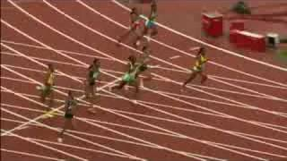 Athletics - Women's 200M - Final and Victory Ceremony - Beijing 2008 Summer Olympic Games