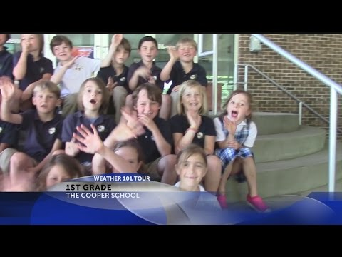 1st graders from the Cooper School visit Rob Fowler at News2