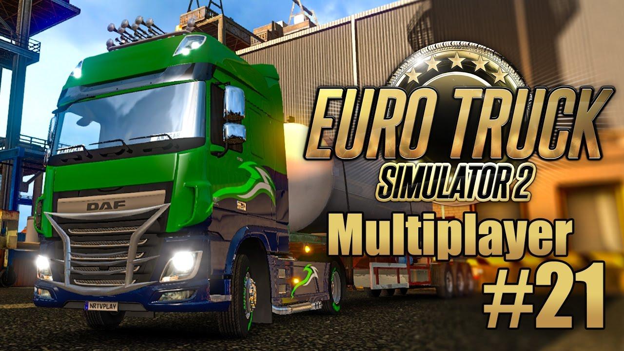 Euro Truck Simulator 2 Multiplayer #21: Das Skandinavien