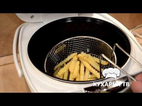 Картофель во фритюре в мультиварке