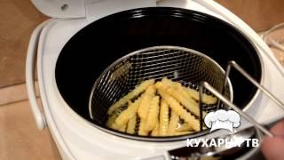 видео Как приготовить картофель фри в мультиварке