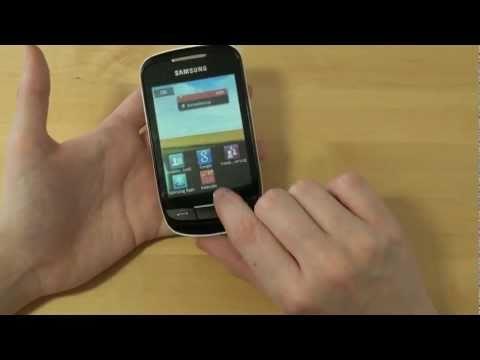 Samsung S3850 Corby II Test Bedienung