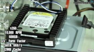 Western Digital 600GB Velociraptor 10,000 RPM Hard Drive Review & Benchmarks
