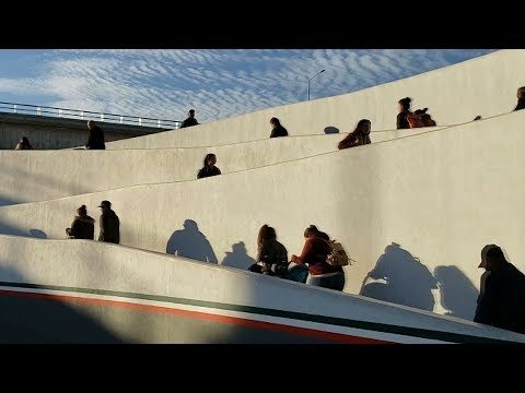 Long lines, wait times for Tijuana workers at US-Mexico border