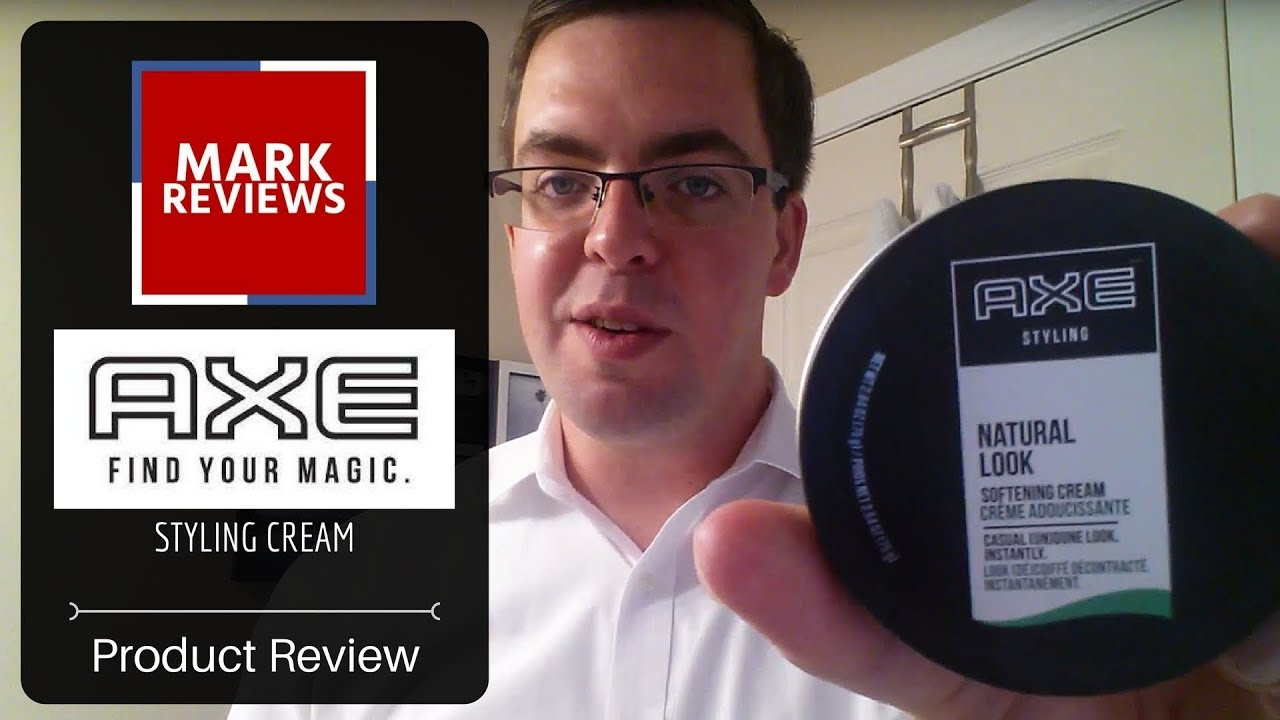Review Axe Natural Look Softening Cream