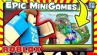 The Master of Roblox Epic Minigames?!?!