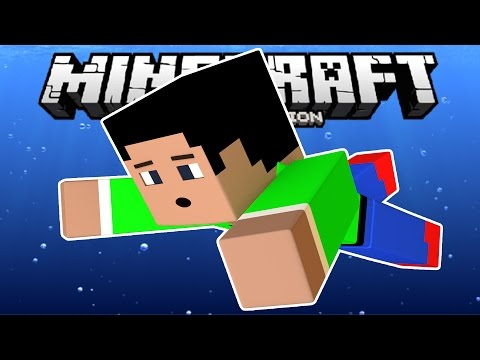 PLAYER ANIMATION MOD in MCPE!!! - Swimming, Flying & MORE