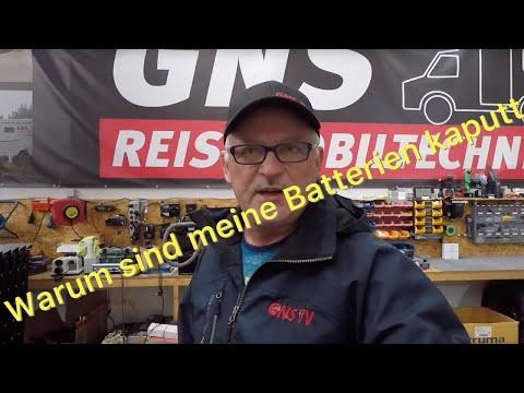 Probleme Mit AGM- Und Gel-Batterien – Guido Von GNS Hilft Weiter!