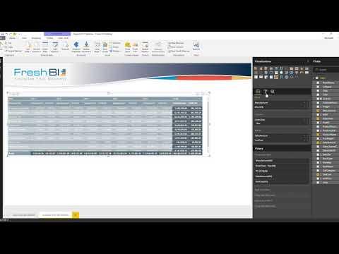 Power BI Academy: Matrix Reloaded - Row Level Measures (Aug 2017)