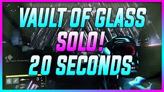 """Destiny: Vault of Glass SOLO Glitch Beat Atheon in 20 Seconds After Patch """"SOLO"""" (Solo Glitch) N"""