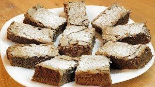 Шоколадные брауни - Очень вкусные пирожные / How to make Chocolate brownie ♡ English subtitles