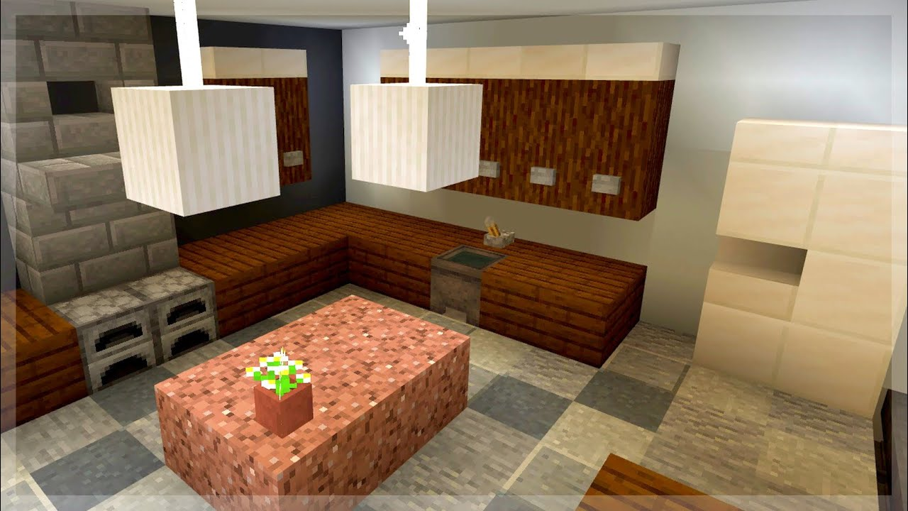 EASY Minecraft Kitchen Designs and Ideas - YouTube