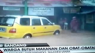 Banjir Bandang kota Manado