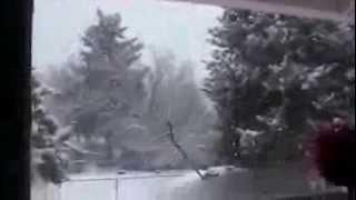 Снег в Ванкувере, США