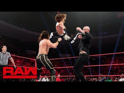 HINDI - Seth Rollins & AJ Styles vs. Baron Corbin & Bobby Lashley: Raw, 6 May, 2019